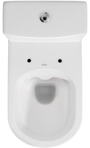 Tualete Cersanit City 104 Clean On, ar vāku, 365 mm x 670 mm