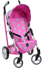 Hauck Icoo Doll Pluto Stroller Pink/Grey D89048