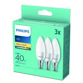 LED SPULDZE B35 5,5W E14 WW FR 3 GAB.