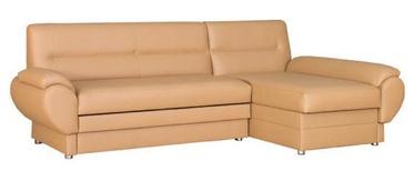 Bodzio Livonia Right Corner Folding Sofa Eco Leather Beige