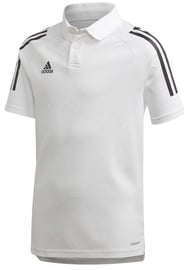 Adidas Mens Condivo 20 Polo Shirt EA2517 White S
