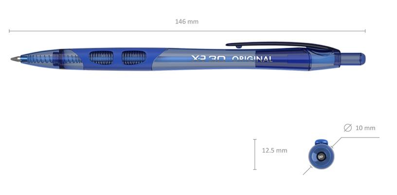 ErichKrause Ballpoint Pen XR-30 Original 0.7mm Blue