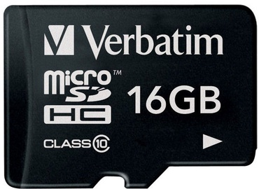 Verbatim 16GB Premium microSDHC U1 Class 10