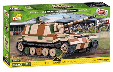 Cobi Small Army WW2 Sd.Kfz. 184 Panzerjäger Tiger Elefant 2507