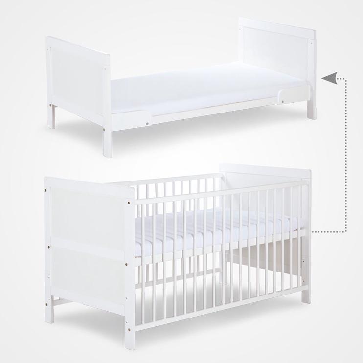 Klups Kompakt Cot-Bed Ecru/Ash