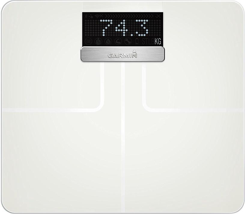 Garmin Index Smart Scale White