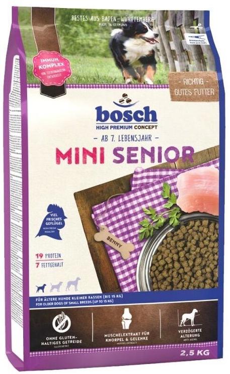 Сухой корм для собак Bosch PetFood Mini Senior 2.5kg