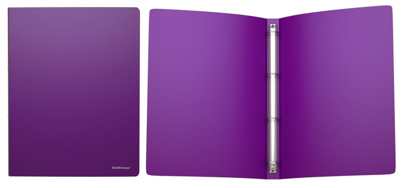 ErichKrause Ring Binder Classic With 4 Rings 24mm A4 Violet