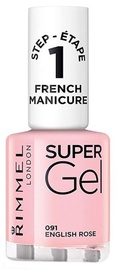 Rimmel London Super Gel French Manicure Nail 12ml 091