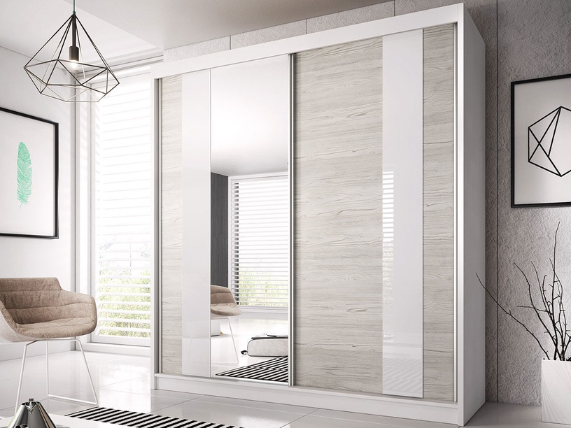 Idzczak Meble Wardrobe Multi 32 183cm White