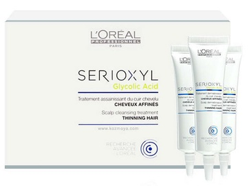 L`Oréal Professionnel Serioxyl Scalp Cleansing Treatment For Thinning Hair 15x15ml