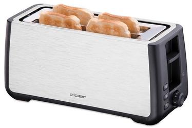 Cloer Toaster 3579 Black/ Inox