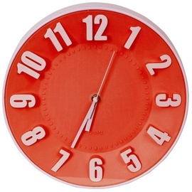 Platinet Today Wall Clock 42989 Red