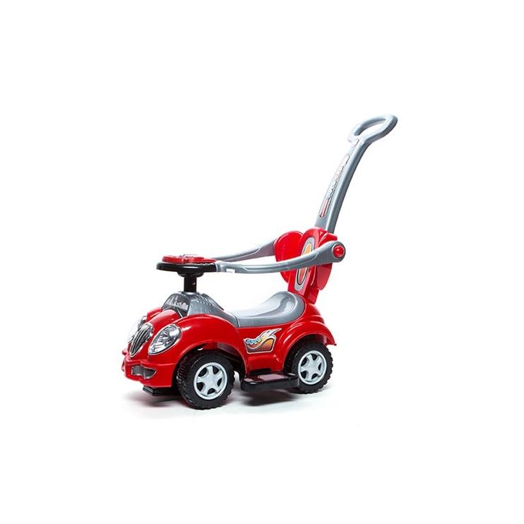 Tõukeauto punane