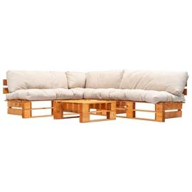 Комплект уличной мебели VLX Garden Set 277454, коричневый, 1-4 места