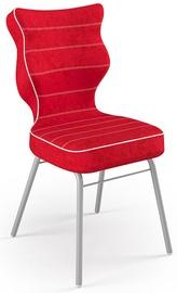 Детский стул Entelo Solo Size 6 VS09, красный/серый, 400 мм x 910 мм