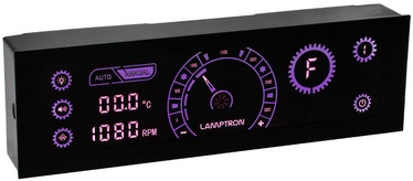 Lamptron CR430 LED and Fan Control Violet/Black
