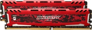 Crucial Ballistix Sport LT Red 32GB 3200MHz CL16 DDR4 KIT OF 2 BLS2K16G4D32AESE