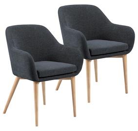 Home4you Chairs Monica Gray 2pcs 20224