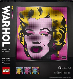 Конструктор LEGO Art Мэрилин Монро Энди Уорхола 31197, 3341 шт.