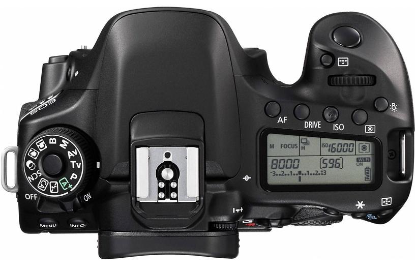 Canon EOS 80D Body Black Demo White Box