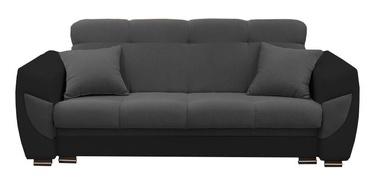 Диван-кровать Idzczak Meble Blanca Grey/Black, 237 x 93 x 95 см