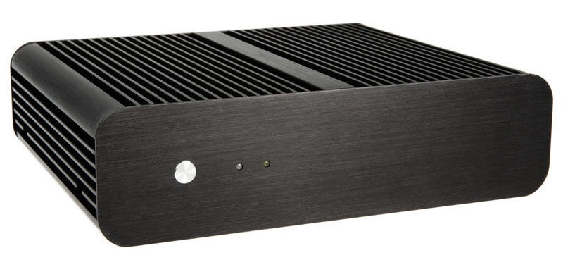 Akasa Case Euler Fanless Thin Mini ITX 120W PSU