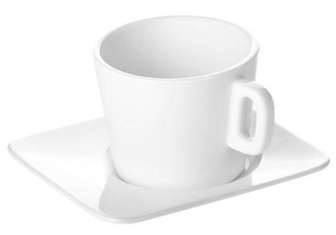 Чашка Tescoma Gustito Cappuccino Cup with Plate 200ml White