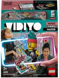 Конструктор LEGO Vidiyo Битбокс Пирата Панка 43103