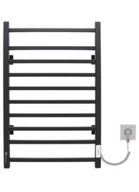 Электрический полотенцесушитель Gloss&Reiter, черный, 500 мм x 800 мм