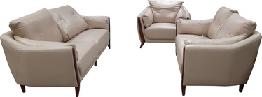 MN Leather Sofa Set 3+2+1 Beige