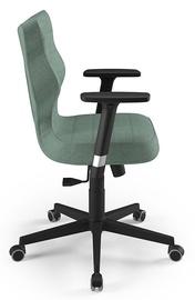 Biroja krēsls Entelo Nero AL05, melna/zaļa