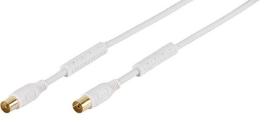 Vivanco HQ TV/Radio Antenna Cable White 1.5m 48119