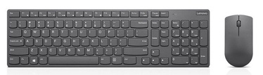 Lenovo Professional Ultraslim Wireless Combo Keyboard Mouse Grey 4X30T25801