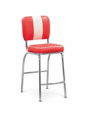 Baro kėdė H72, raudona