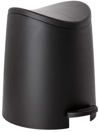 Tatay Bathroom Pedal Bin 3l Standard Black