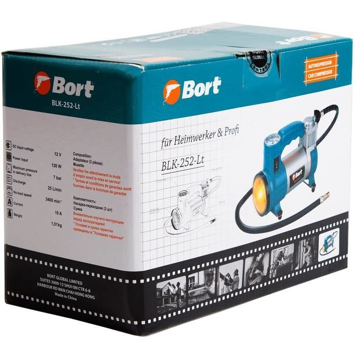 Bort BLK-252-Lt Car Compressor