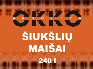 Prügikotid sangadega Okko, 240l 5tk