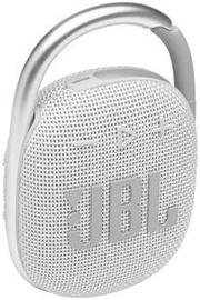 Беспроводной динамик JBL Clip 4, белый, 5 Вт