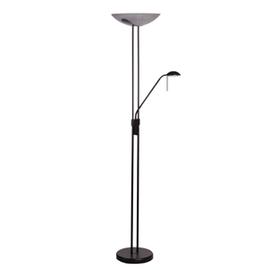 Wofi Bayna Floor Lamp 300W Antique Black 391802