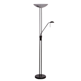 Wofi Bayna Floor Lamp 300W Antique Black 391802