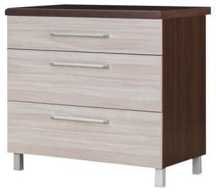 Bodzio Loara Bottom Cabinet 90DS Latte/Nut
