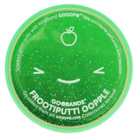Keycraft GoGoPo FrootiPutti Oopple Glitter Slime Green