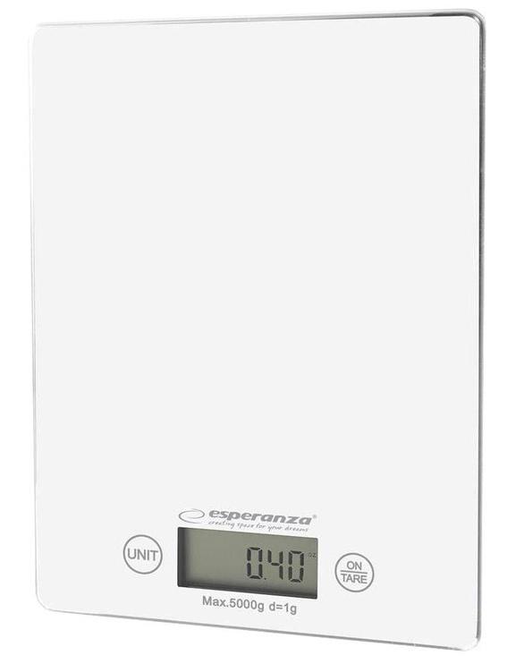 Elektrooniline köögikaal Esperanza Lemon EKS002, valge