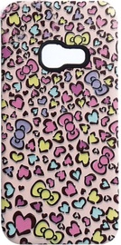 Mocco 3D Hearts Back Case For Samsung Galaxy A3 A320 Pink