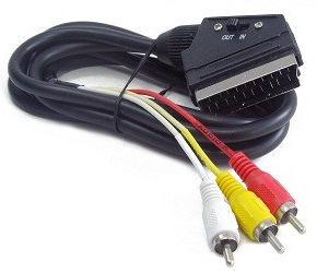 Gembird RCA/SCART 1.8m