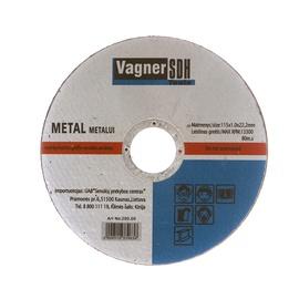 Lõikeketas Vagner SDH 200.00, 115x1,0x22 mm, metall