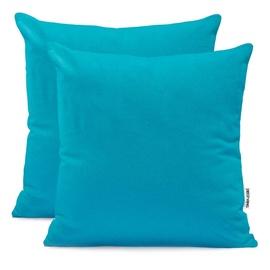 Комплект постельного белья DecoKing Amber, синий, 800 мм x 800 мм, 2 шт.