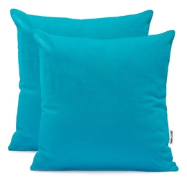 DecoKing Amber Pillowcase 80x80 Marine 2pcs