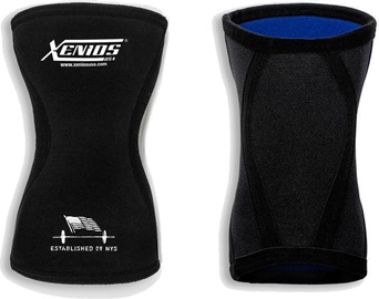 Xenios Ergo Compression Knee Guard 5mm Black L